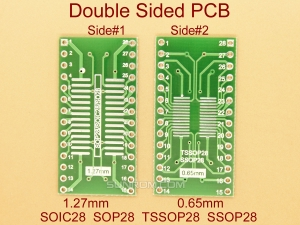 SOIC28 SOP28 TSSOP SSOP28 0.65mm 1.27mm Adapter PCB
