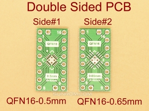 QFN16 0.5mm 0.65mm SMD Adapter PCB