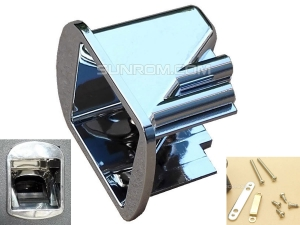 Mounting Bracket - Clamping Kit for Fingerprint Sensors R305 R307 - Silver