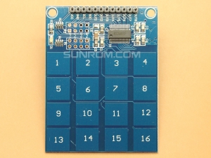 8/16 Channel Capacitive Touch Module - TTP229