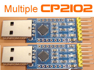 CP2102 - Assign Serial number to use multiple units on same PC