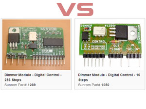 Compare Dimmer Modules