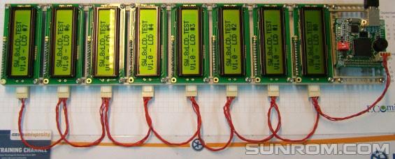I2C LCD Backpack - PCF8574 [4585] : Sunrom Electronics/Technologies
