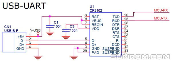 CP2102 - USB to UART Bridge [3744] : Sunrom Electronics/Technologies