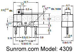 Replacet switch for mouse [4309] : Sunrom Electronics/Technologies