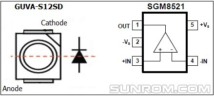 schematic of infrared remote sensor infrared heater