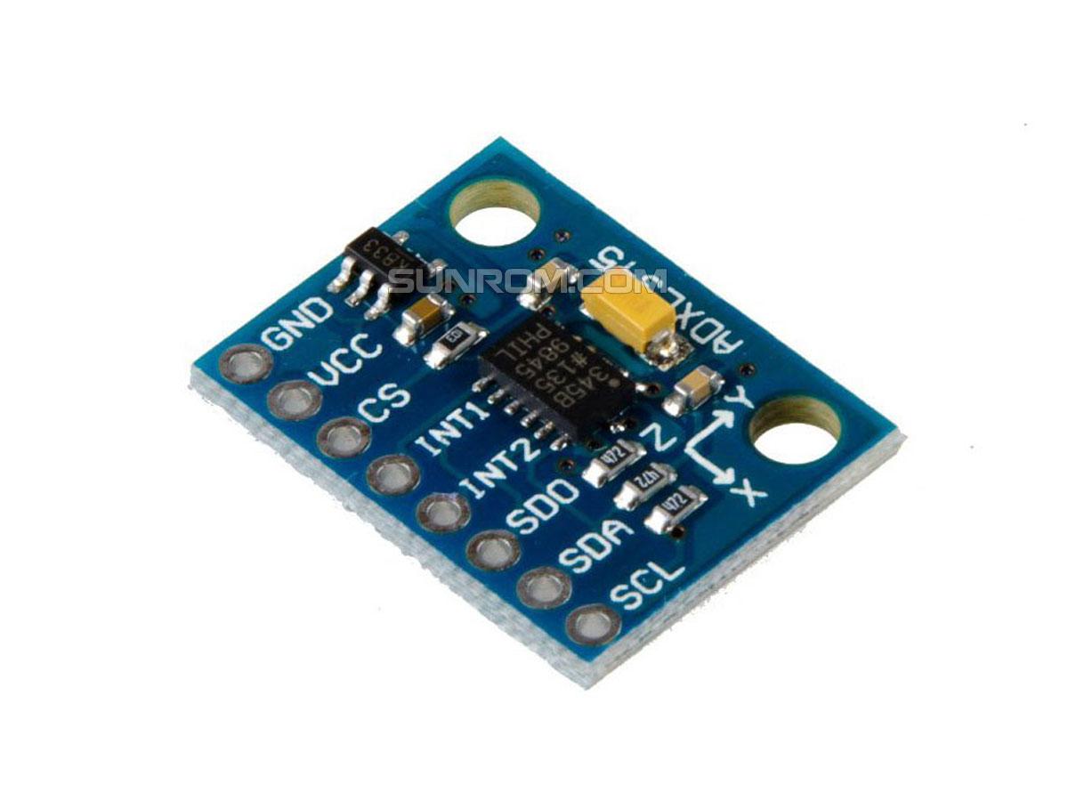 adxl345 digitale Neigungswinkelsensor Schwerkraftbeschleunigung Modul für